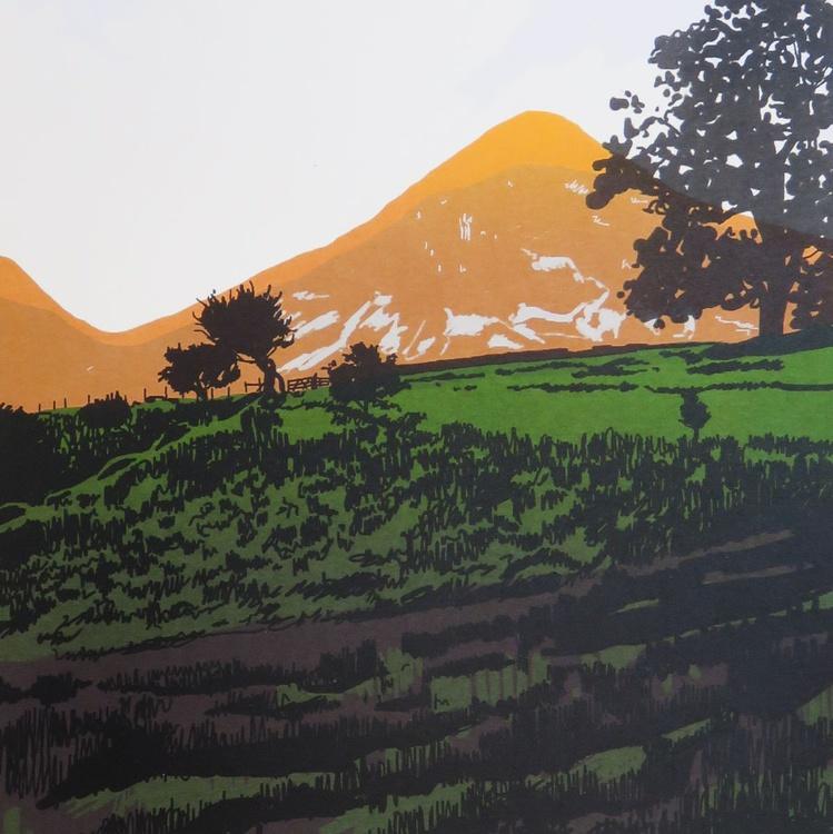 Evening Sun on Grasmoor - Image 0