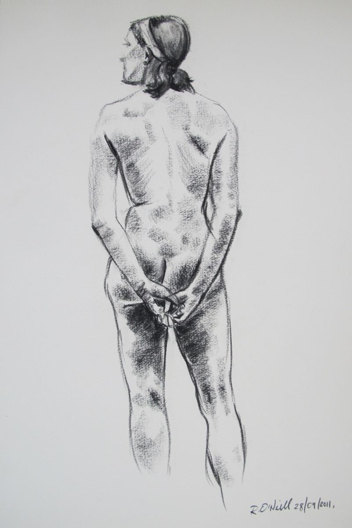 standing female nudes - Image 0