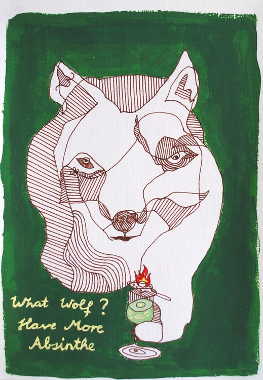 What Wolf? Have More Absinthe - Image 0