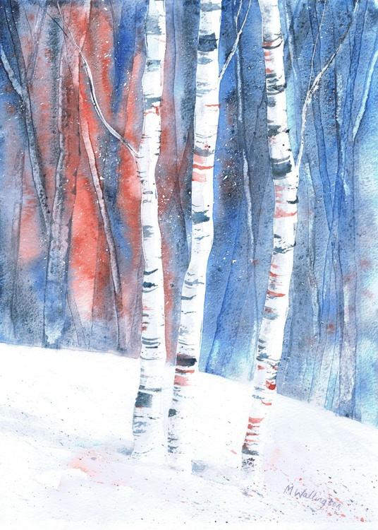 Winter Birch Trees I - Image 0