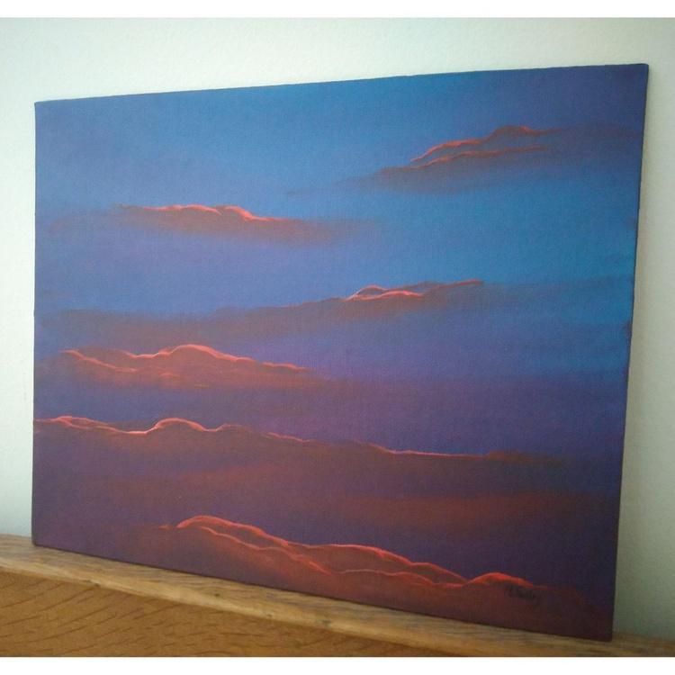drifting amber sky - Image 0