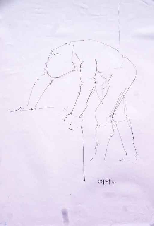 Life Drawing No 70 -