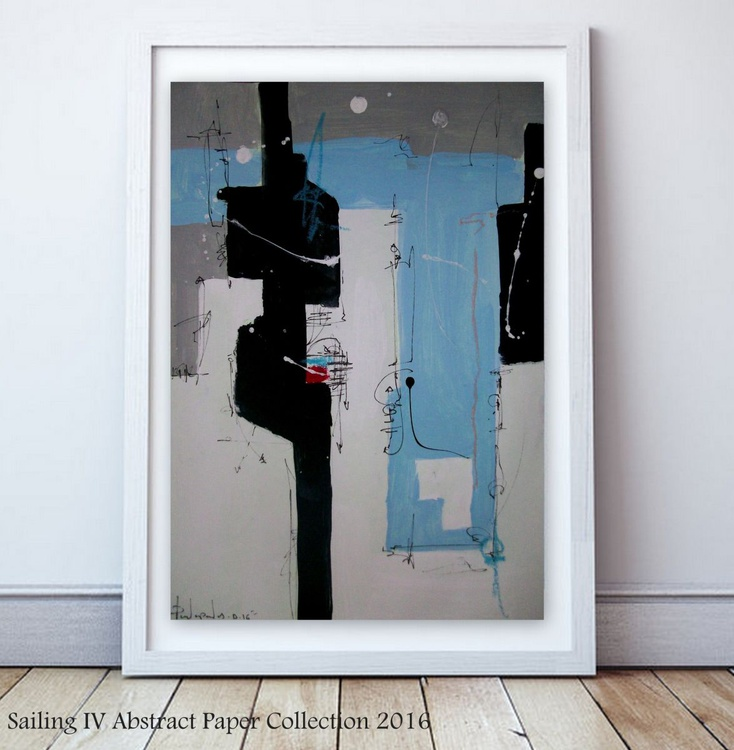 Sailing IV, Abstract paper collection - Image 0