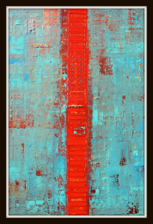 Primitive Abstract Red Line - Image 0