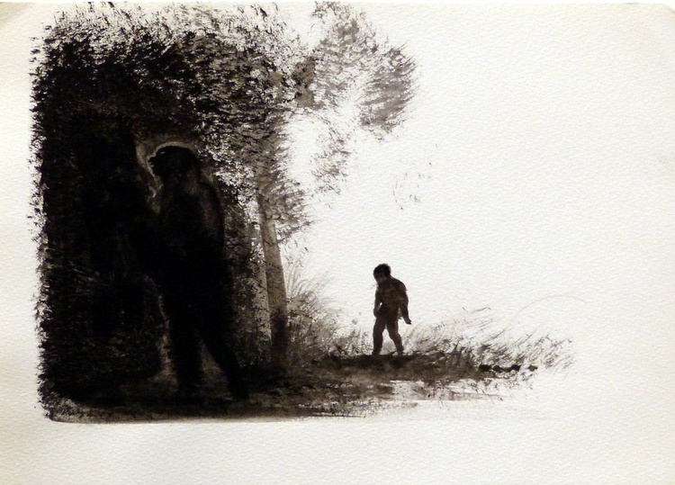 Landscape #18, 29x41 cm - Image 0