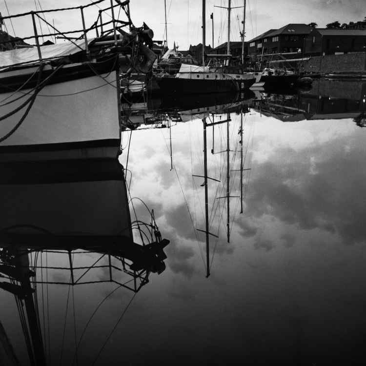 Boat Reflections -