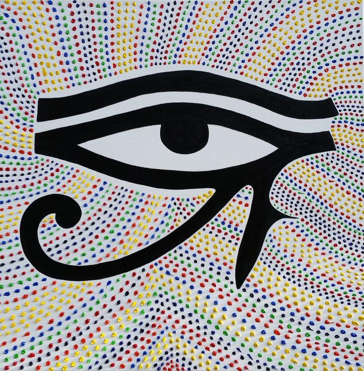 """Third Eye"" Original Abstract Painting - Image 0"