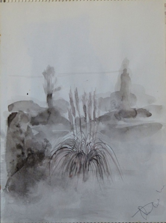 Winter in Mougins 2, 32x24 cm - Image 0