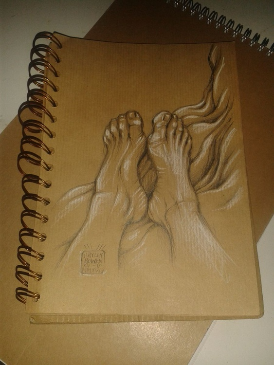Feet 5. Small Sketches Series. - Image 0