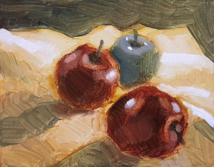 An Arrangement of Apples - Image 0