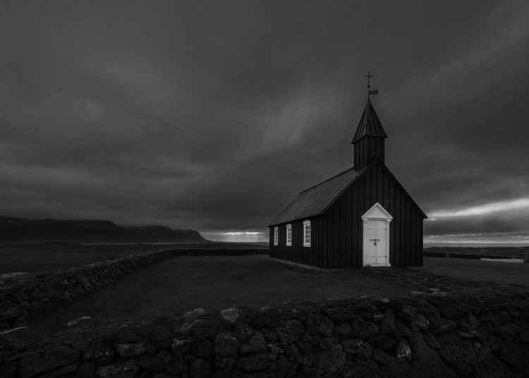 Seeing the light, Búðir, Snaefellsnes, Iceland