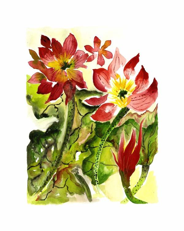 Red Lotus III - Image 0