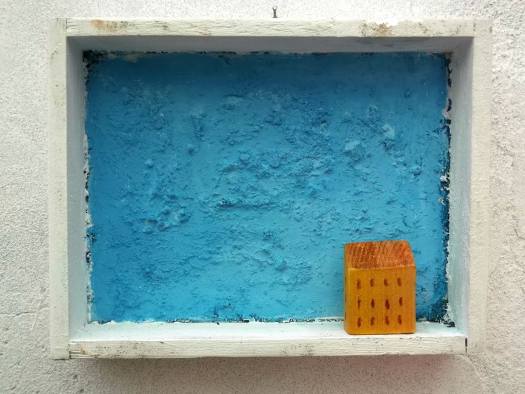 Casa nel blu - House in the blue - Image 0