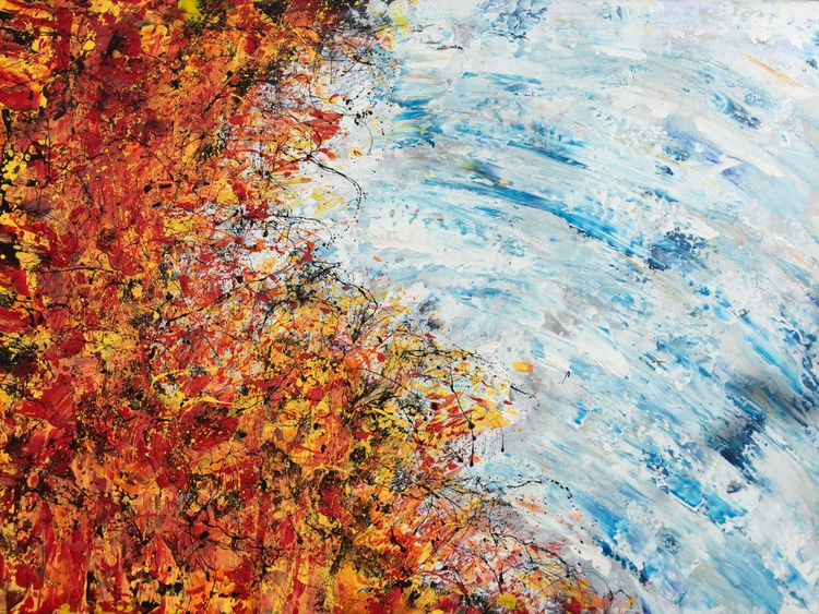 Fire N Ice 70x50 Free UK Shipping - Image 0