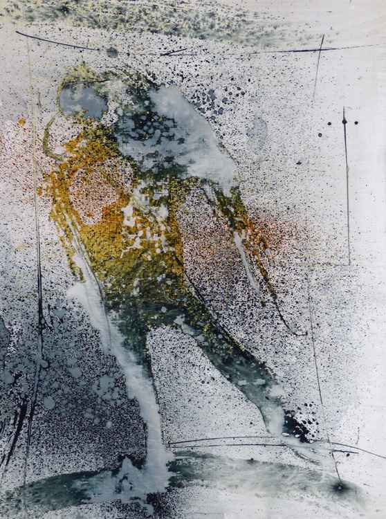 Figure under the rain 1 -