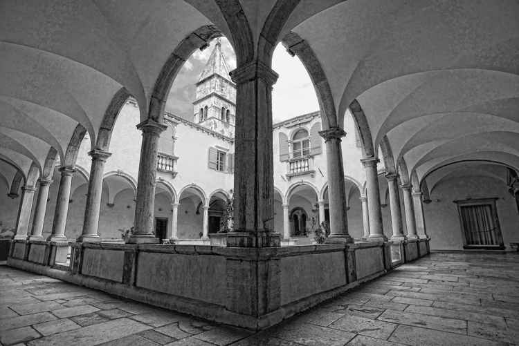 Cloisters of St. Francis Piran -