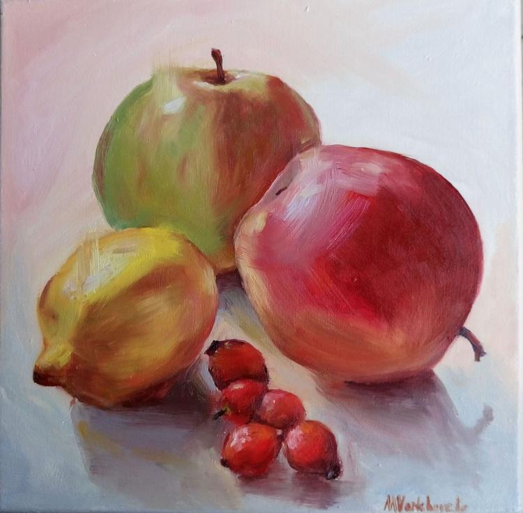 Apples Lemon And Dog Rose Fruit - Image 0