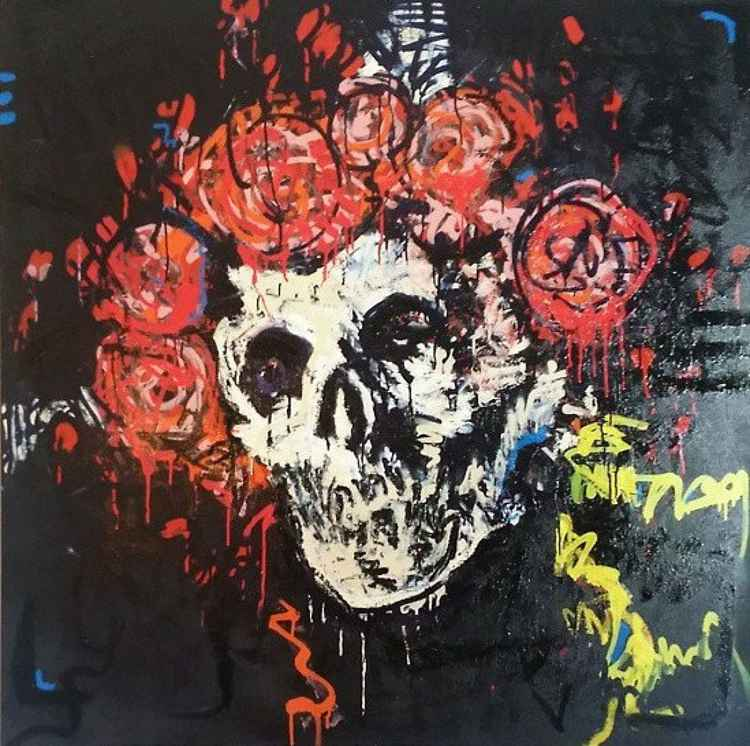 Skull and Roses -