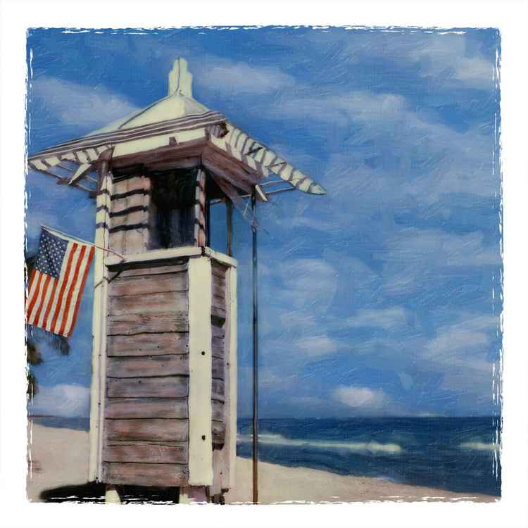 The Last Lifeguard Stand, Ft Lauderdale Beach FL -