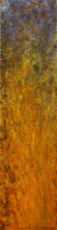 Fire Light, 2008, acrylic on canvas, 80 x 20 cm -