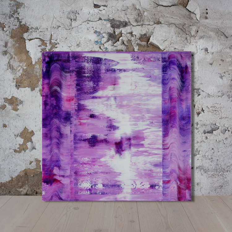 The Visible Invisible (70x70 cm) - Image 0