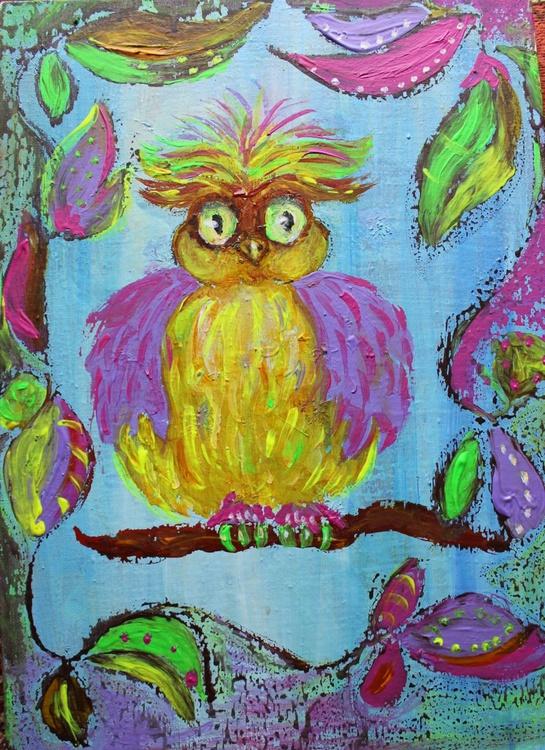 Cartoon Owl - Image 0