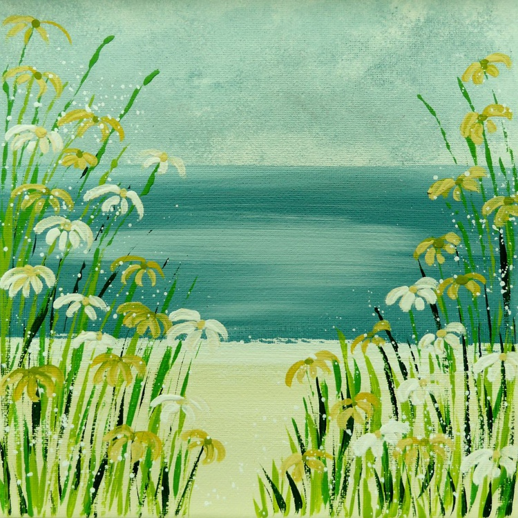 Yellow Daisy Beach - Image 0