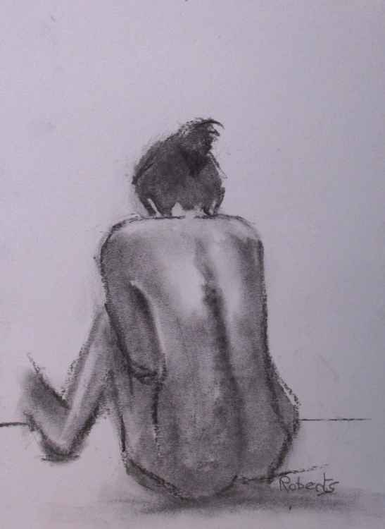 Life study in charcoal #2