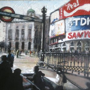 London, Piccadilly Circus by Paul Mitchell