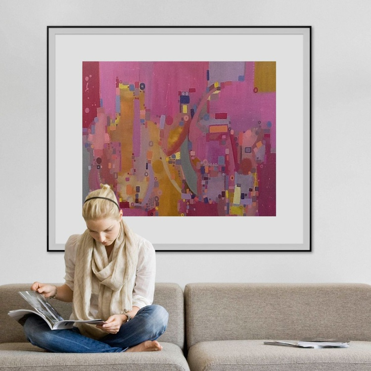 Pink Sky (120x100) - Image 0