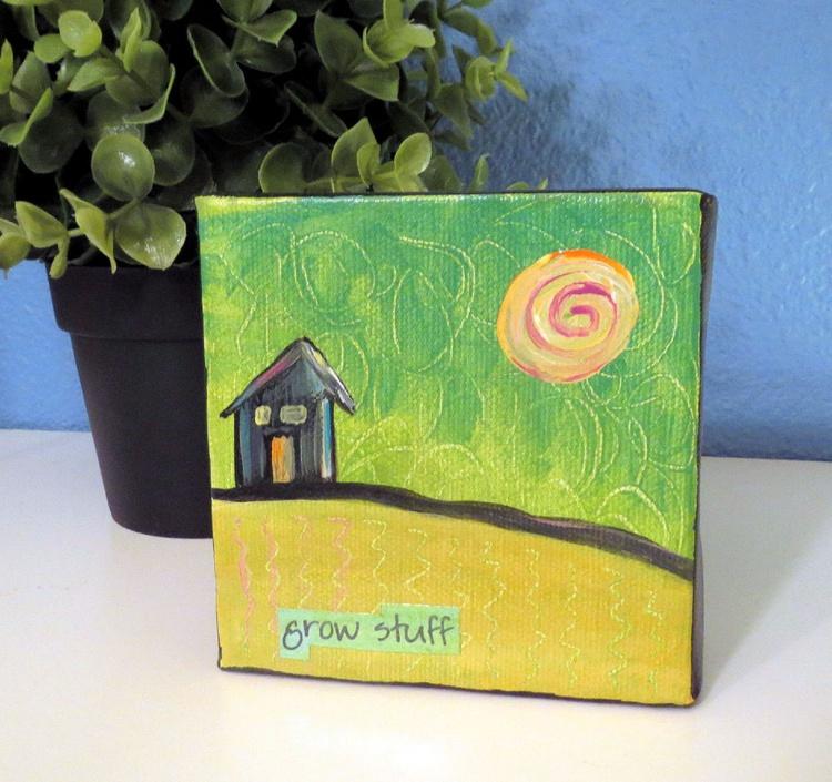 Grow Stuff Little House on Hill - Image 0