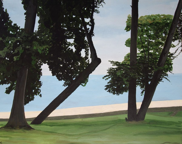 Seafront Trees - Image 0