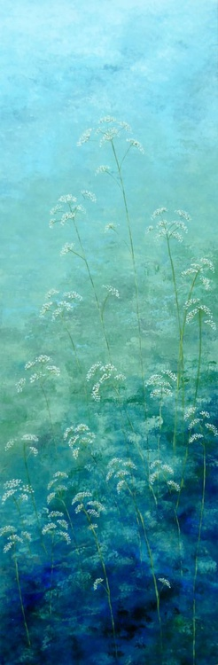 Cow Parsley with blue - Image 0