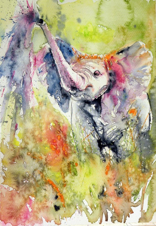 Elephant baby - Image 0