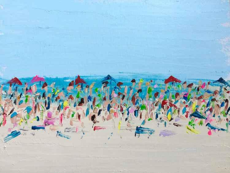 """Beach Life  11""""x4"""""""