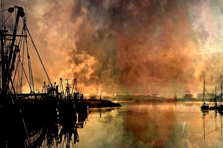 Magic of Light - Canvas 75 x 50 cm - Image 0