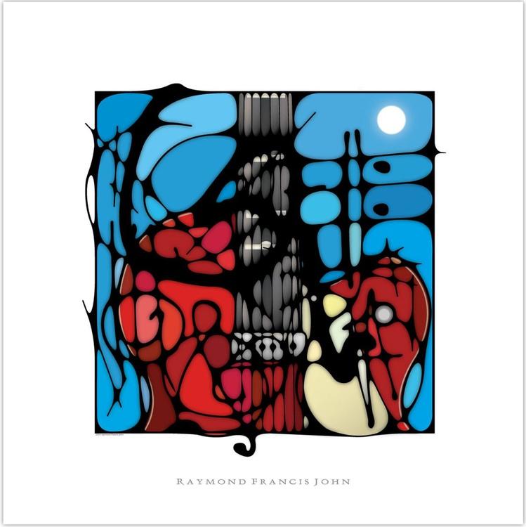Red Guitar - Image 0