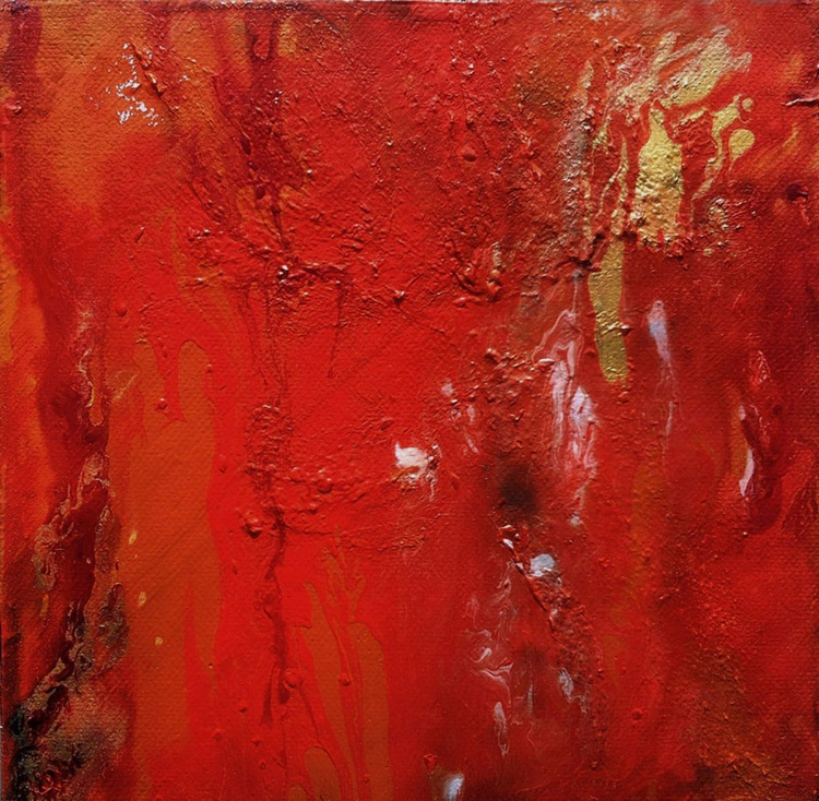Red Planet Abstract - Image 0