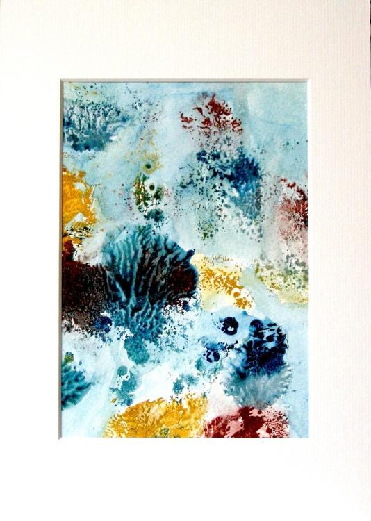 Under Water - in 24 x 33 cm Frame - Image 0