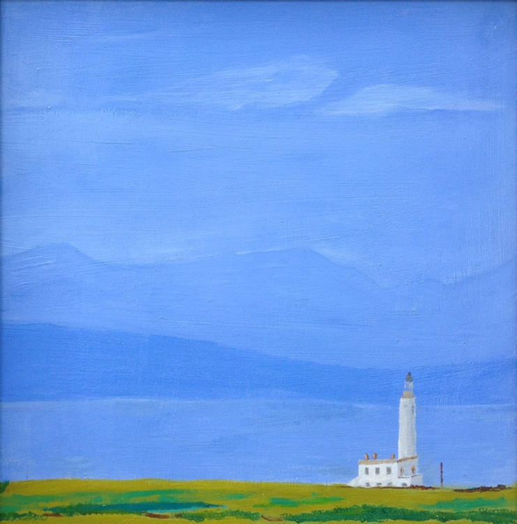 Turnberry Lighthouse looking to Arran - Image 0