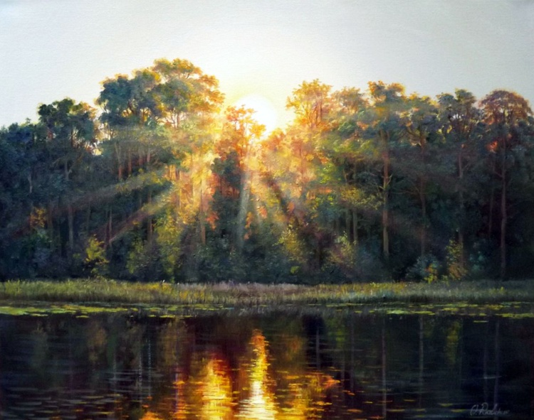 Sunrise over the river 2 - Image 0