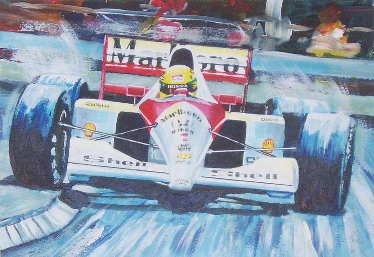 Senna at Monaco! - Image 0