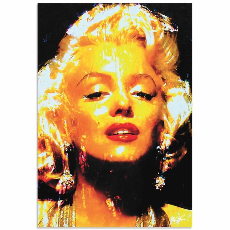 Mark Lewis 'Marilyn Monroe Restoration' Limited Edition Pop Art Print on Metal - Image 0