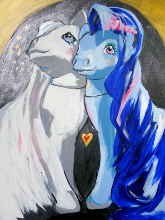 Sweetheart Sister and Pony Bride -
