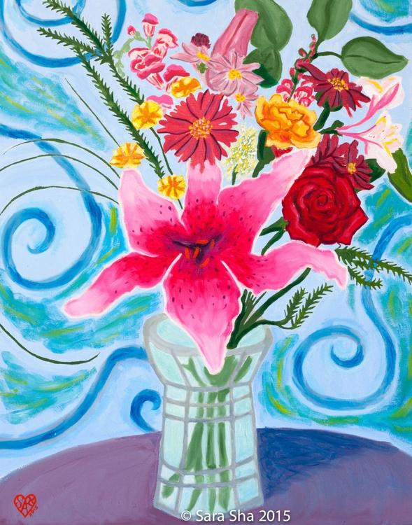 Birthday Flowers - Image 0