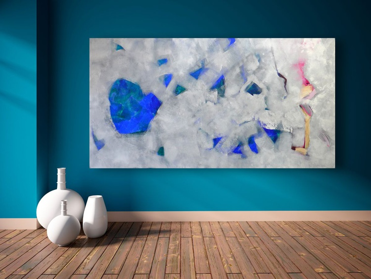 """Through The Ice 48 x 24""""/122 x 61cm - Image 0"""
