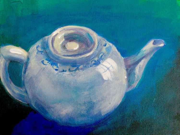 Teapot - Daily painting 35