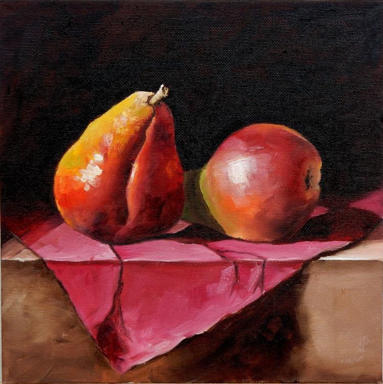 Pears. Still life, 25x25cm - Image 0
