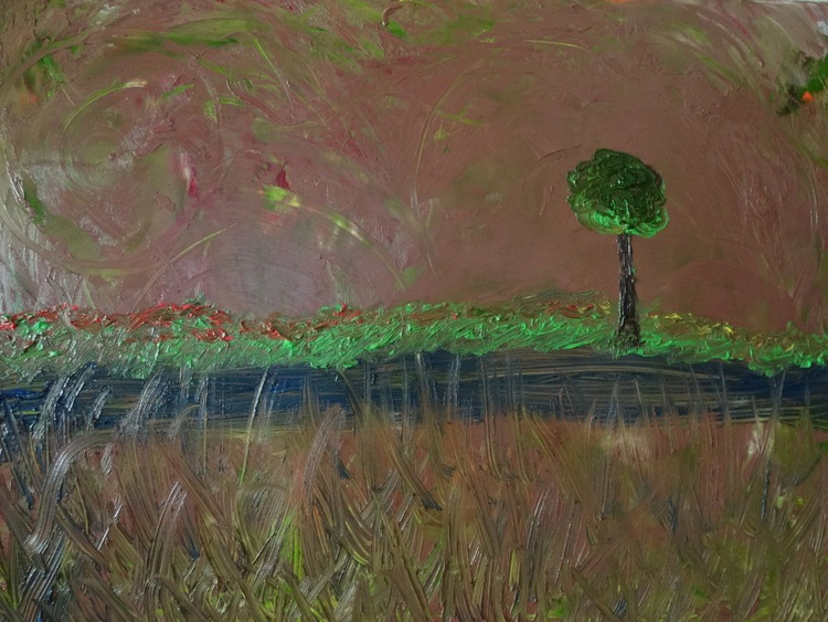 Lone Tree With Wind - Image 0