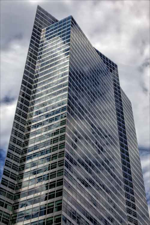 Glass Architecture and Clouds 2
